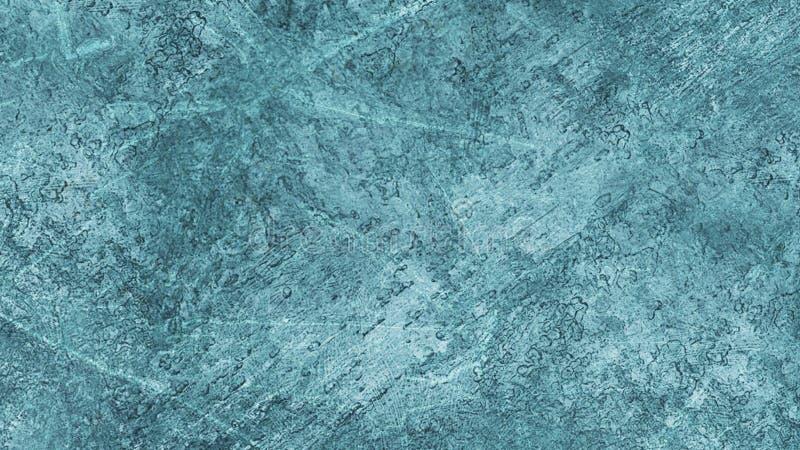 Tekstury błękita lód Lodowy lodowisko tło płatków śniegu biały niebieska zima Zasięrzutny widok ilustracyjny natura ilustracji
