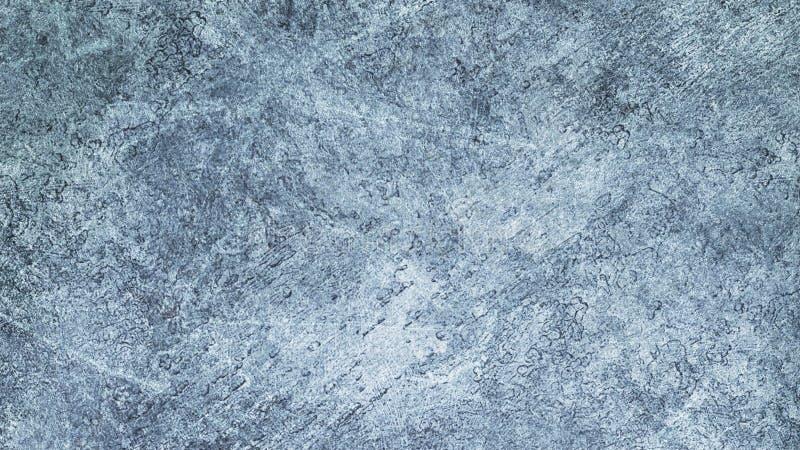 Tekstury błękita lód Lodowy lodowisko tło płatków śniegu biały niebieska zima Zasięrzutny widok ilustracyjny natura ilustracja wektor