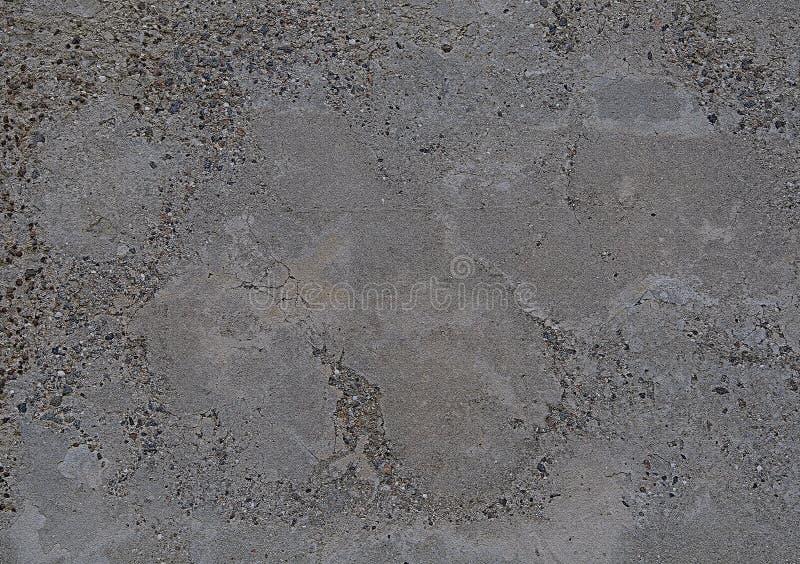 Tekstury beton Szary textured tło z małymi pęknięciami fotografia royalty free