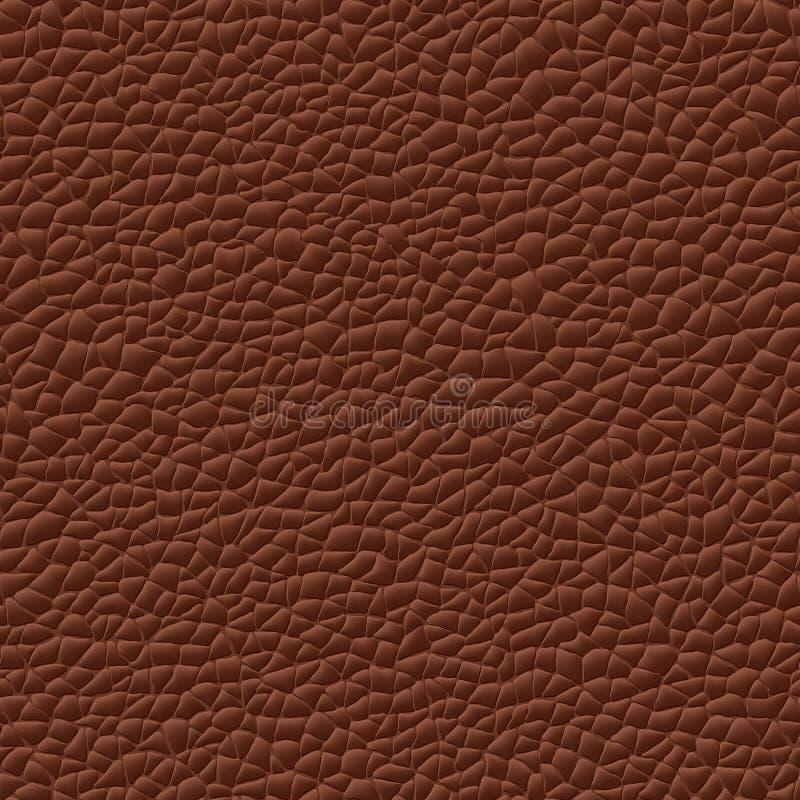 Tekstury bezszwowy wektorowy rzemienny tło royalty ilustracja