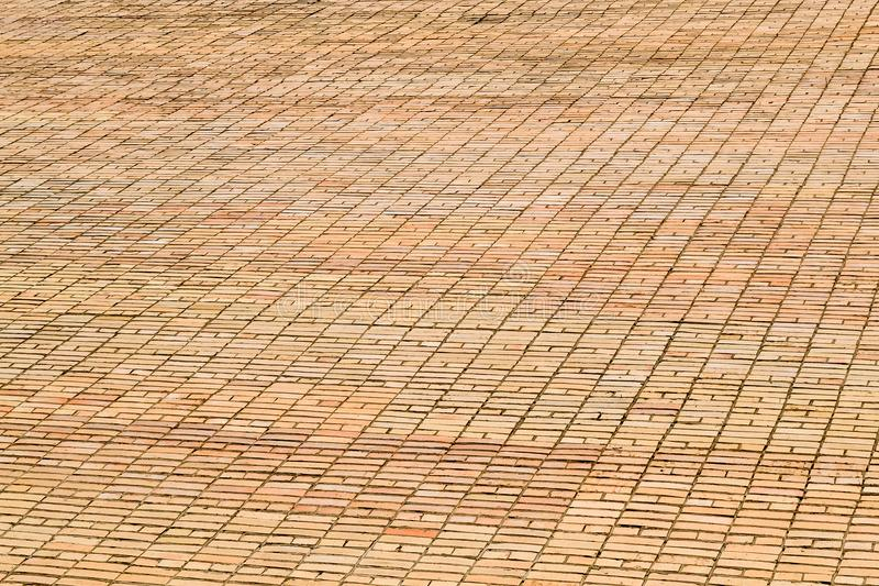 Tekstury brickwork Ampuły ściana żółta cegła fotografia royalty free