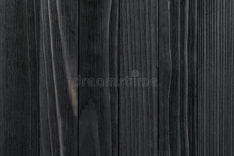 tekstury czarny drewno obraz stock