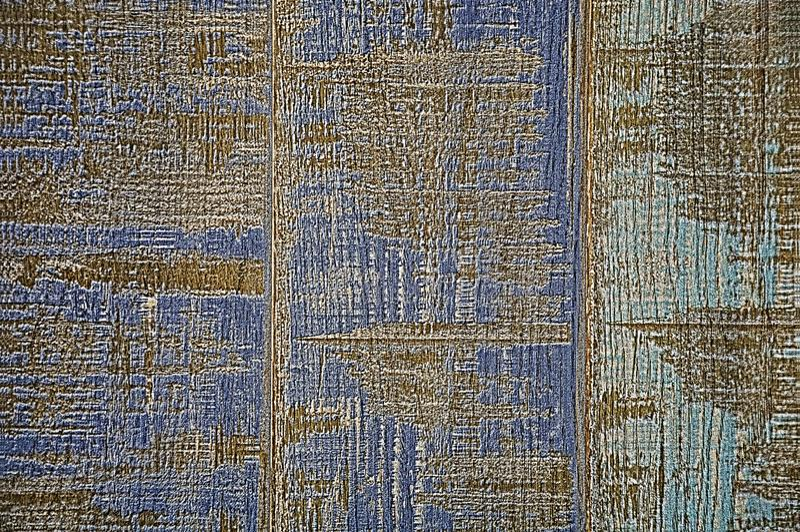 tekstury drewniane Błękitny i turkusowy tło stara farba fotografia stock