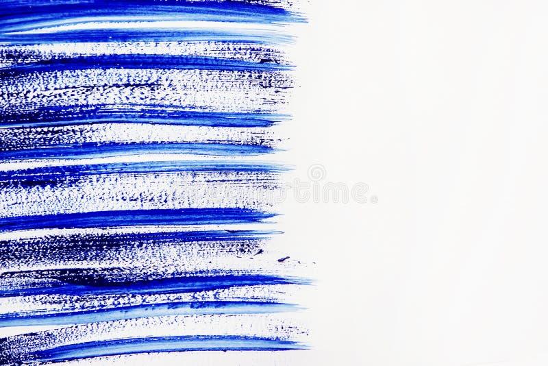 Tekstury farba na białym tle Selekcyjna ostrość ilustracji
