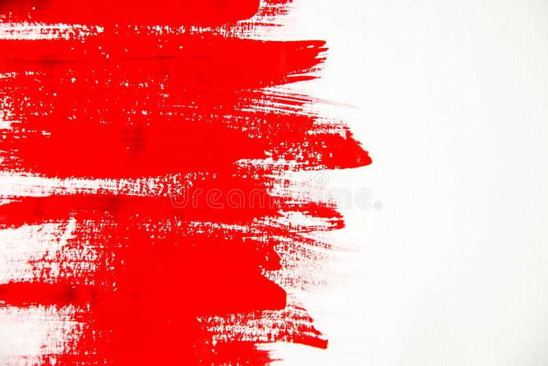 Tekstury farba na białym tle Selekcyjna ostrość ilustracja wektor