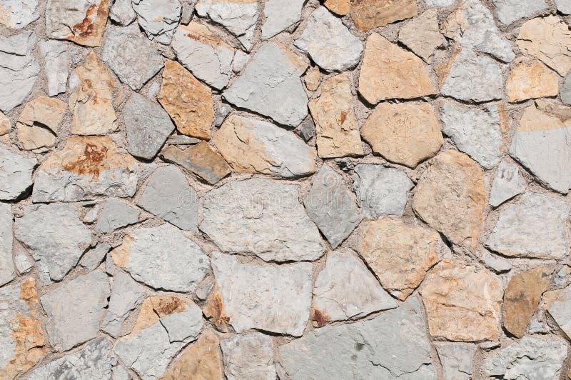 tekstury kamienna ściana zdjęcie royalty free