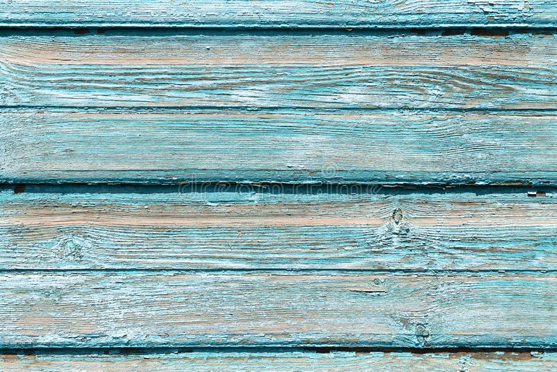 Tekstury stary drewniany błękitny tło, mnóstwo deski Tło drzewo, deska zielonego koloru farba stara, bezpłatny zdjęcia royalty free