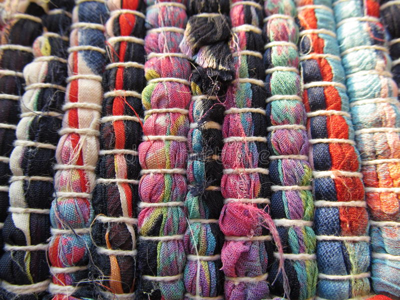 Tekstylna dywanik tekstura obraz royalty free