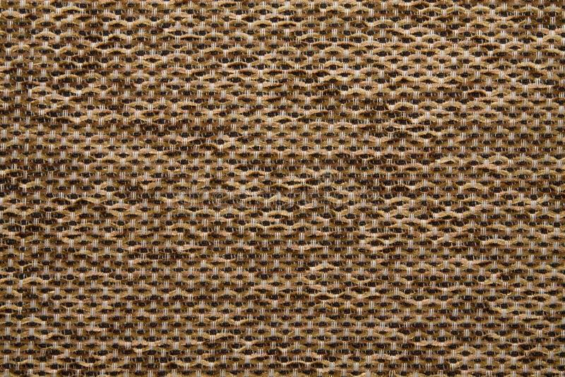 Tekstylnej tkaniny tekstury Anemonu Kombin 131 Chamoisee brązu kolor zdjęcia royalty free