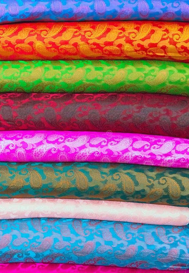 Tekstylny mody płótno, tkanina i tkaniny obraz royalty free