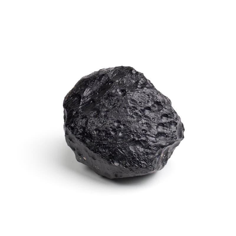 Tektite-Meteorit lizenzfreie stockbilder