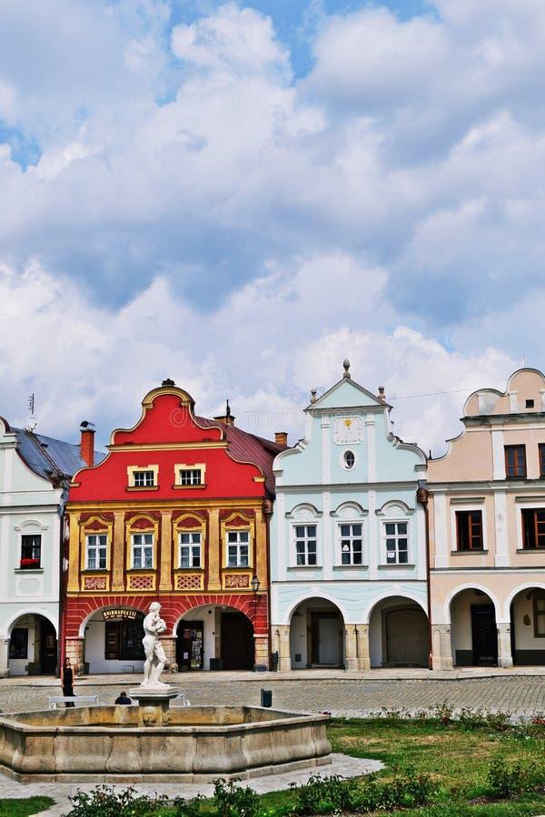 TelÄ- in der Tschechischen Republik lizenzfreies stockfoto