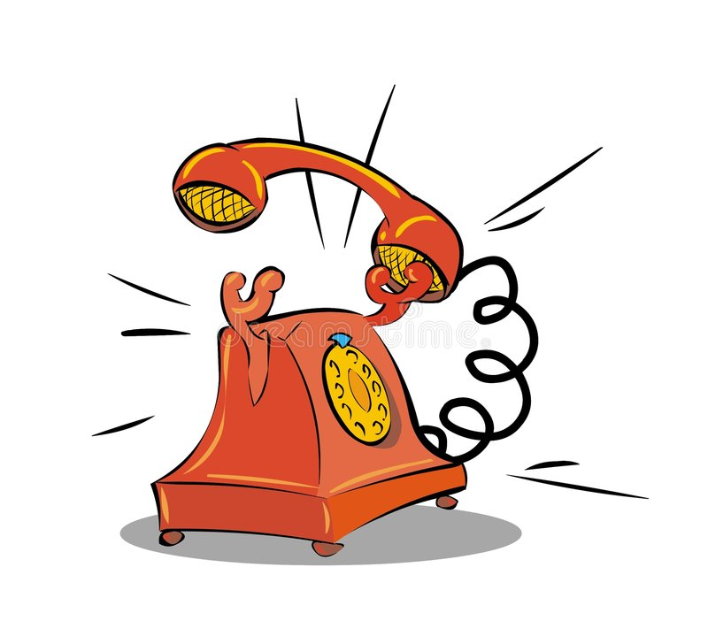 Teléfono stock de ilustración