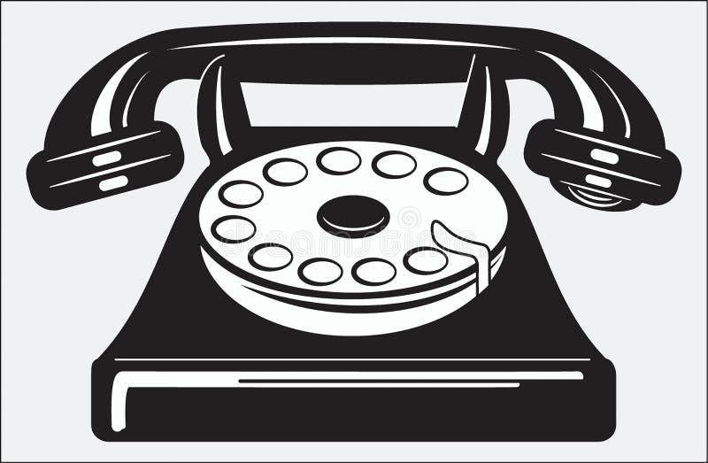 Teléfono ilustración del vector