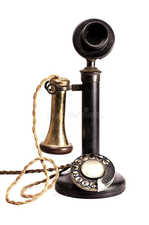 Teléfono antiguo. foto de archivo libre de regalías