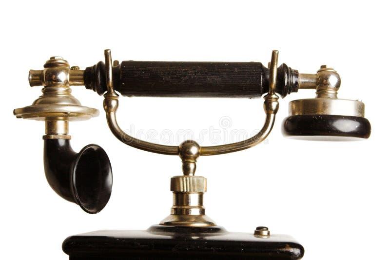 Teléfono antiguo imágenes de archivo libres de regalías