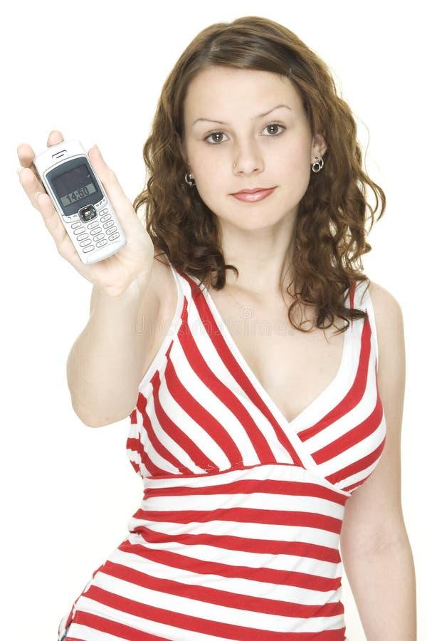 Teléfono celular imagen de archivo libre de regalías