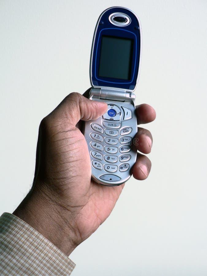 Teléfono celular 2 aislado con el camino de recortes imagen de archivo libre de regalías