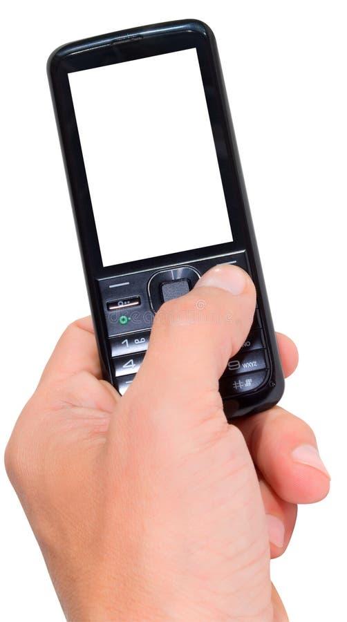 Teléfono celular. imagenes de archivo