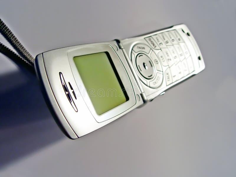 Teléfono celular abierto imágenes de archivo libres de regalías