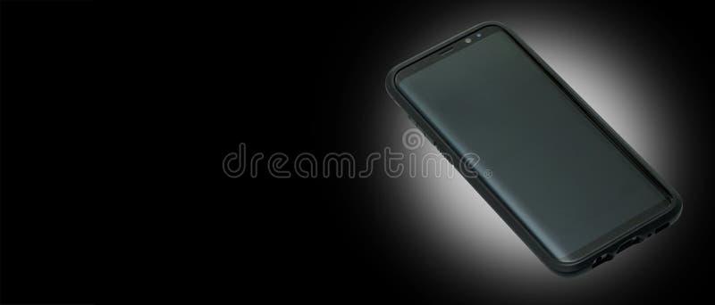 Teléfono celular aislado foto de archivo libre de regalías