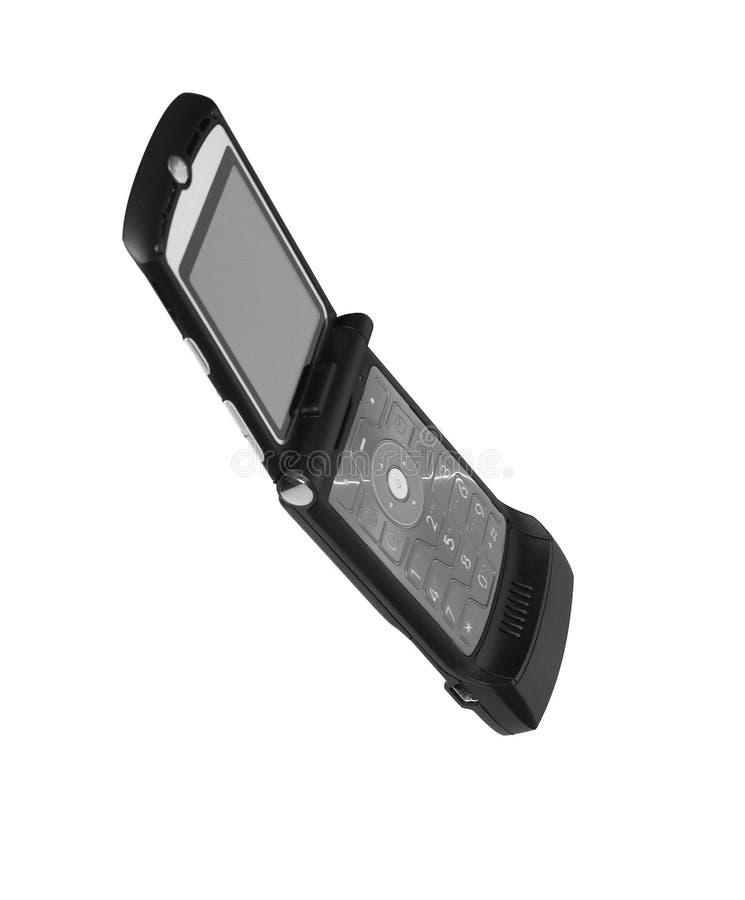 Teléfono celular del lema fotografía de archivo