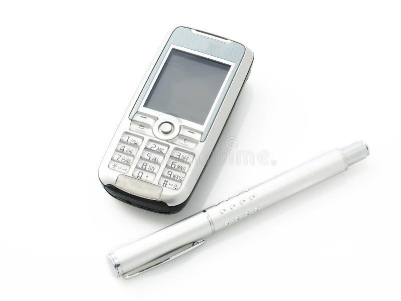 Download Teléfono celular y pluma foto de archivo. Imagen de comunicación - 180418