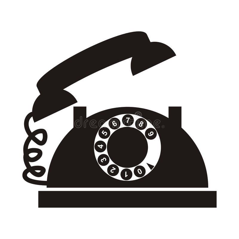 Teléfono con el dial libre illustration