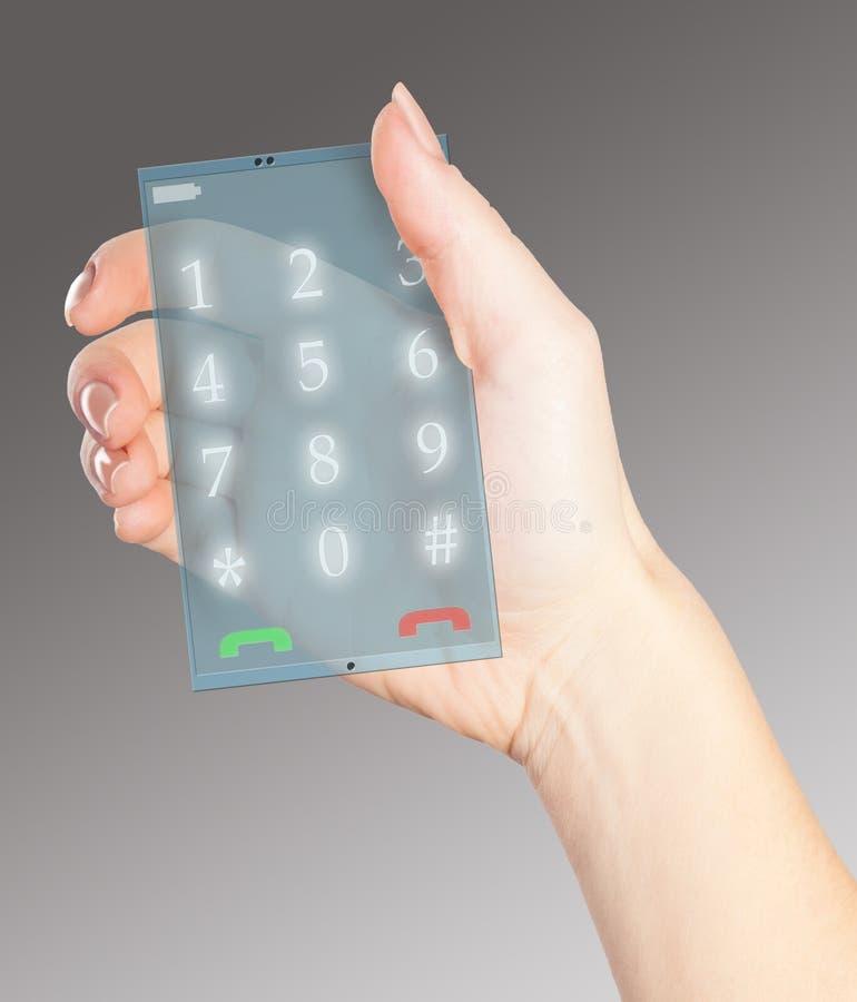 Teléfono de alta tecnología fotos de archivo libres de regalías