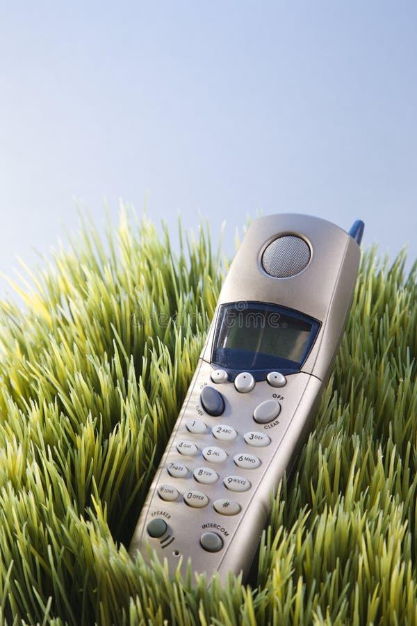 Teléfono de la línea horizonte imagenes de archivo