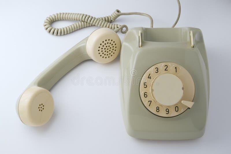 Teléfono de la vendimia imagenes de archivo