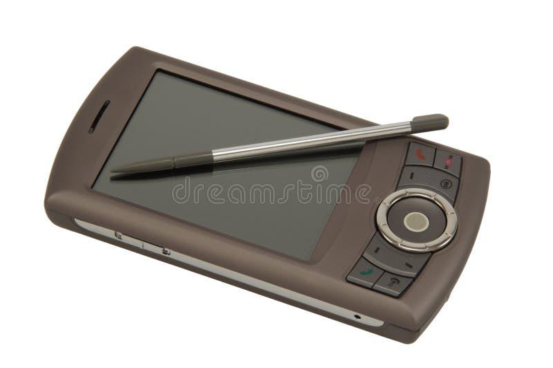 Teléfono de PDA foto de archivo