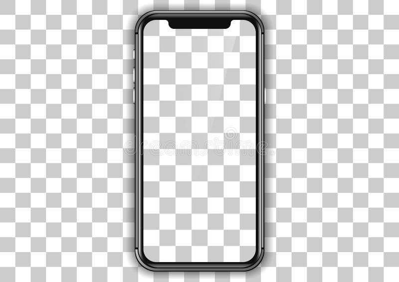 teléfono del marco de la plantilla ilustración del vector