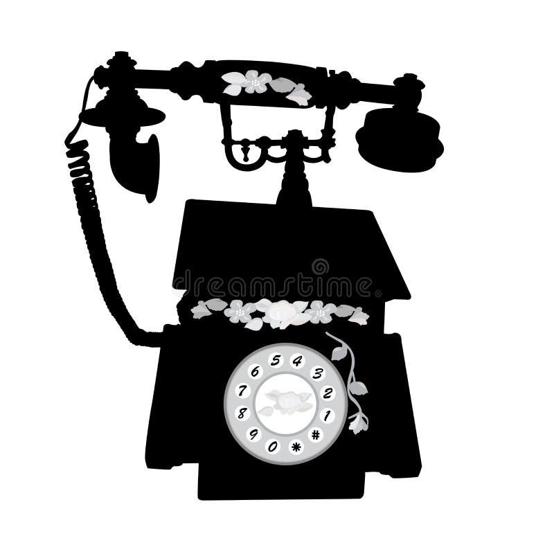 Teléfono del vintage foto de archivo