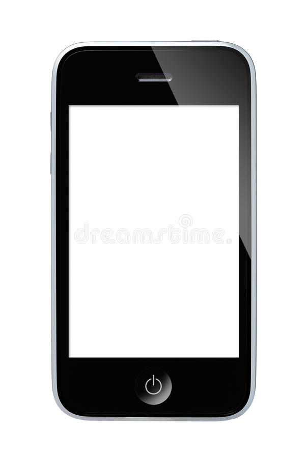 Teléfono elegante fotos de archivo