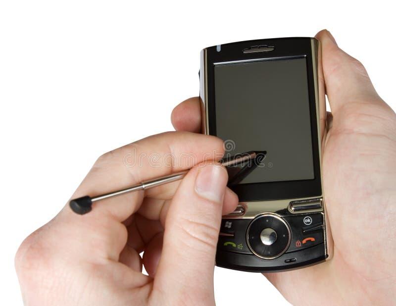 Teléfono elegante foto de archivo