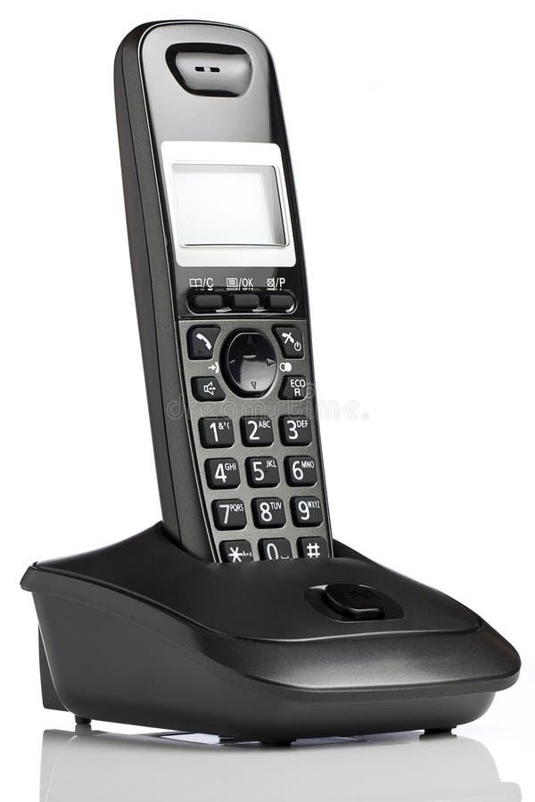 Teléfono inalámbrico imagen de archivo libre de regalías