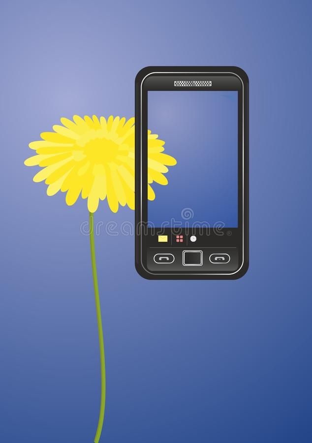 Teléfono móvil ilustración del vector