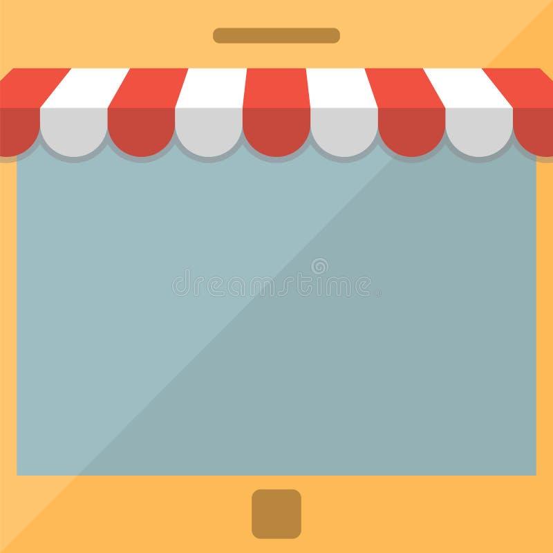 Download Teléfono Móvil Concepto De La Tienda En Línea Ilustración del Vector - Ilustración de ilustración, retail: 42426823