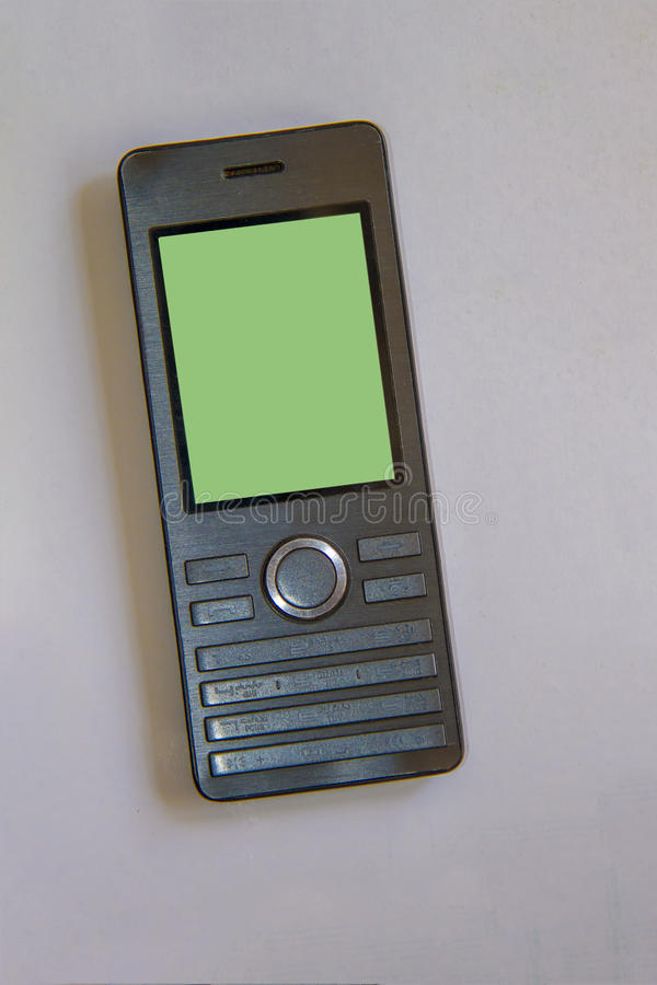 Teléfono móvil de la célula elegante fotos de archivo