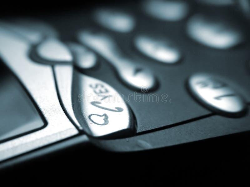 Teléfono móvil del asunto imagenes de archivo