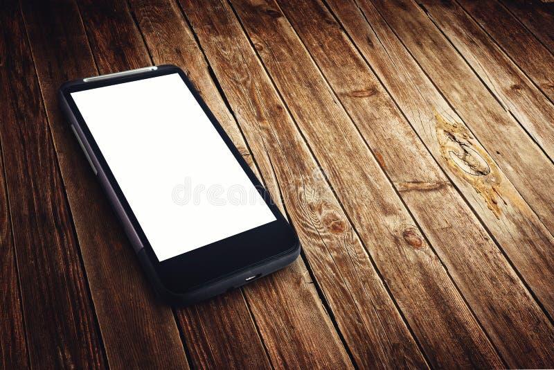 Download Teléfono Móvil Genérico Con La Pantalla En Blanco Imagen de archivo - Imagen de célula, espacio: 42433999