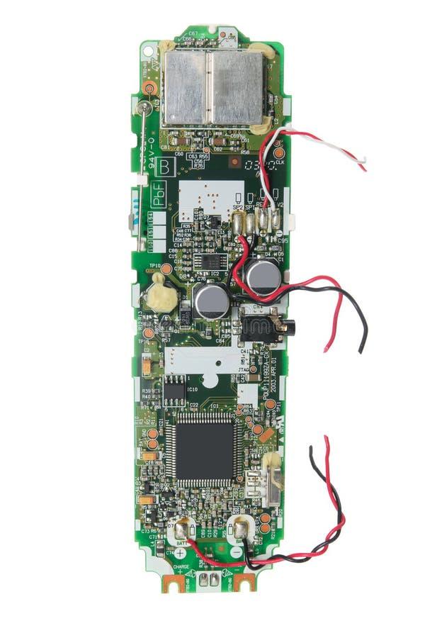 Teléfono móvil quebrado ilustración del vector