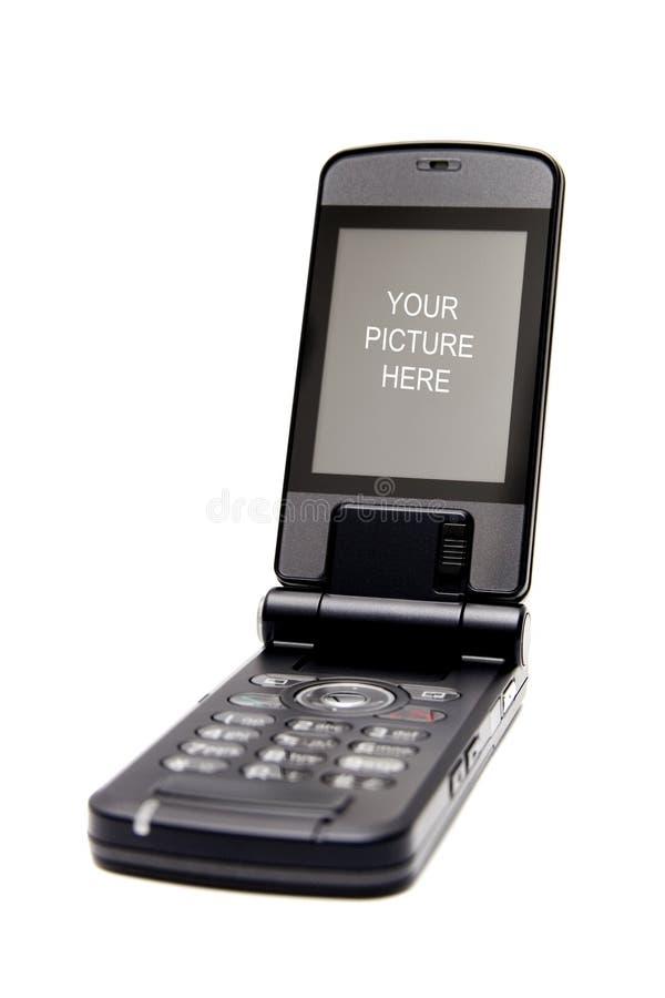 Teléfono moblile celular de la tecnología fotos de archivo
