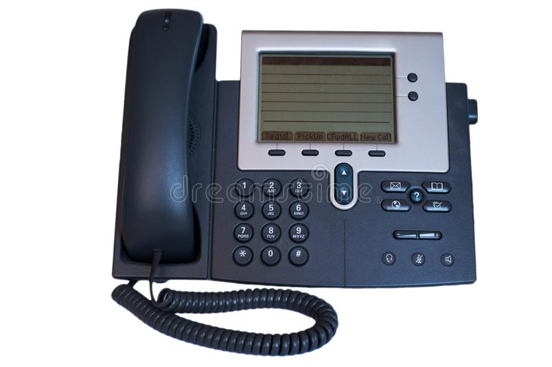Tel fono moderno de la oficina imagen de archivo imagen for La oficina telefono