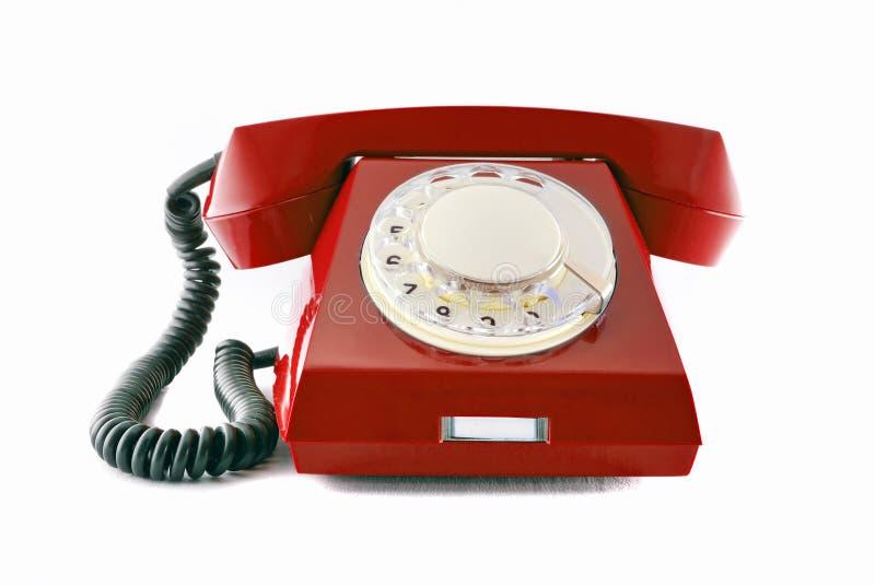 Teléfono retro imagen de archivo libre de regalías
