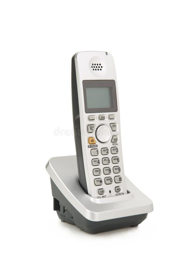 Teléfono sin cuerda imagenes de archivo
