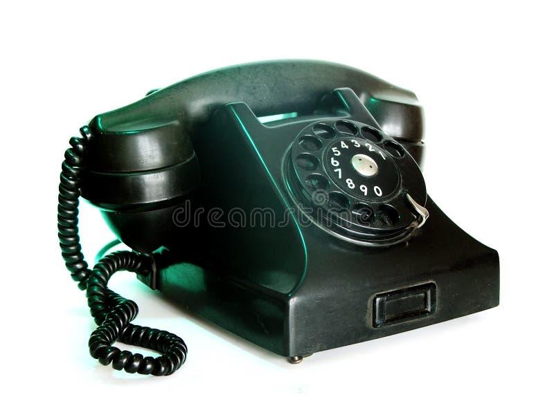 Teléfono viejo imágenes de archivo libres de regalías