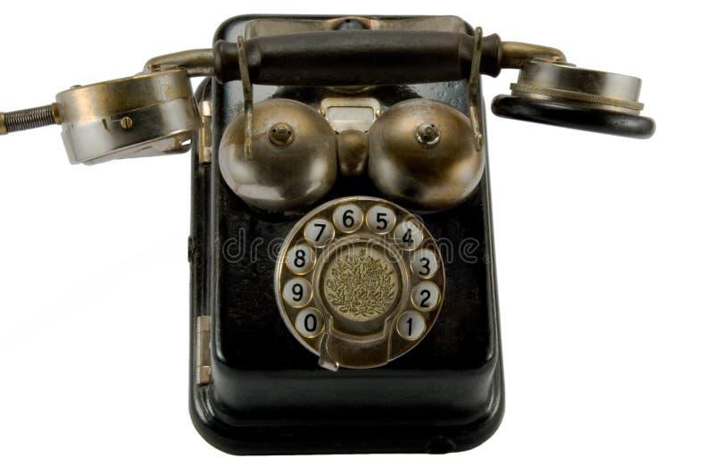 Teléfono viejo imagenes de archivo