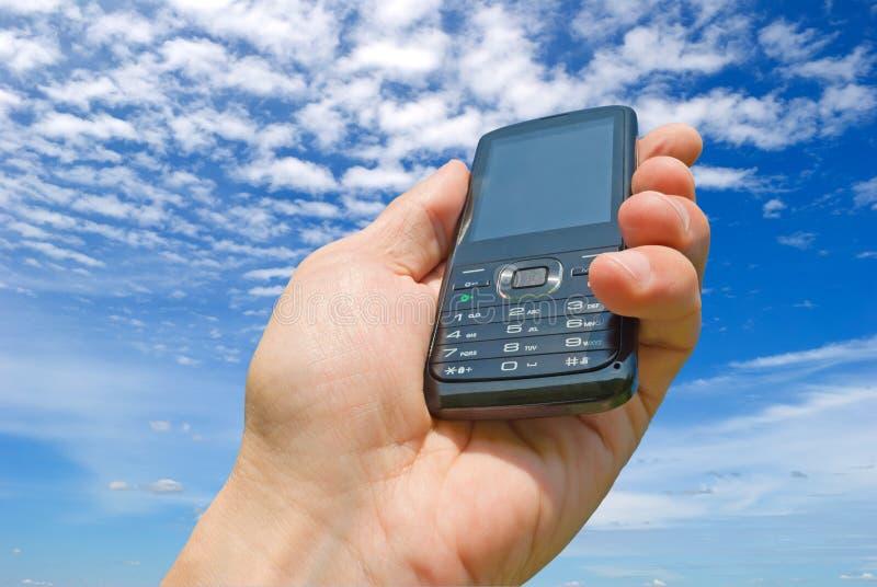 Teléfonos móviles, fuente, demanda y servicio. foto de archivo libre de regalías